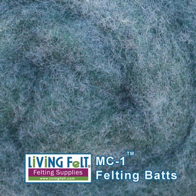 MC-1™    Merino Cross Batt – Wintergreen