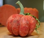 FREE Needle Felting Tutorial: Needle Felt a Fairy Tale Pumpkin