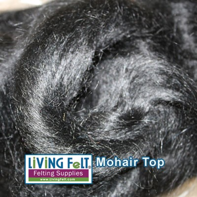 Mohair Top Fine Black