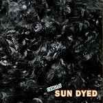Sun Dyed Premium Mohair Locks Black Beauty