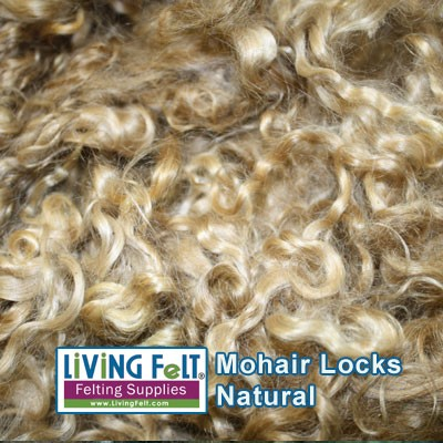 Premium Mohair Locks Goldie Locks
