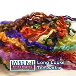Hand Dyed Teeswater Locks - Fall Assortment