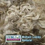 Premium Mohair Locks Platinum