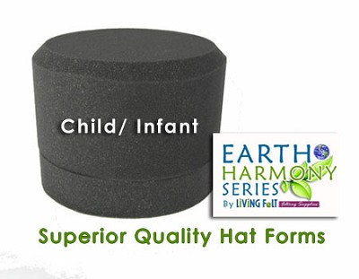 Needle Felting Hat Forms Earth Harmony Series Child Size