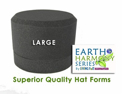 Needle Felting Hat Forms Earth Harmony Series LARGE
