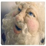 Needle Felting A Santa Doll CD Workshop or Kit