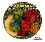 Nuno Felt Scarf Kit - Deluxe - Apple Orchard