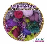 Nuno Felt Scarf Kit - Deluxe - Fairy Hollow