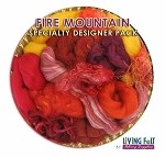 Nuno Felt Scarf Kit - Deluxe - Fire Mountain