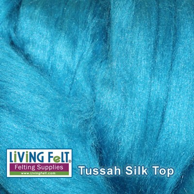 Tussah Silk Top Lagoon