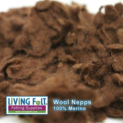 Wool Nepps - Cocoa