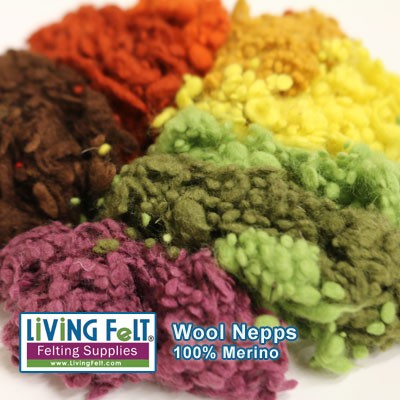Wool Nepps - Goody Bag FALL COLORS