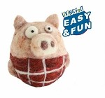 Needle Felting Woolbuddy Pig Kit