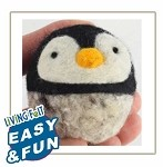 Needle Felting Woolbuddy Penguin Kit