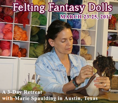 Needle Felting Workshop & Retreat - Dolls