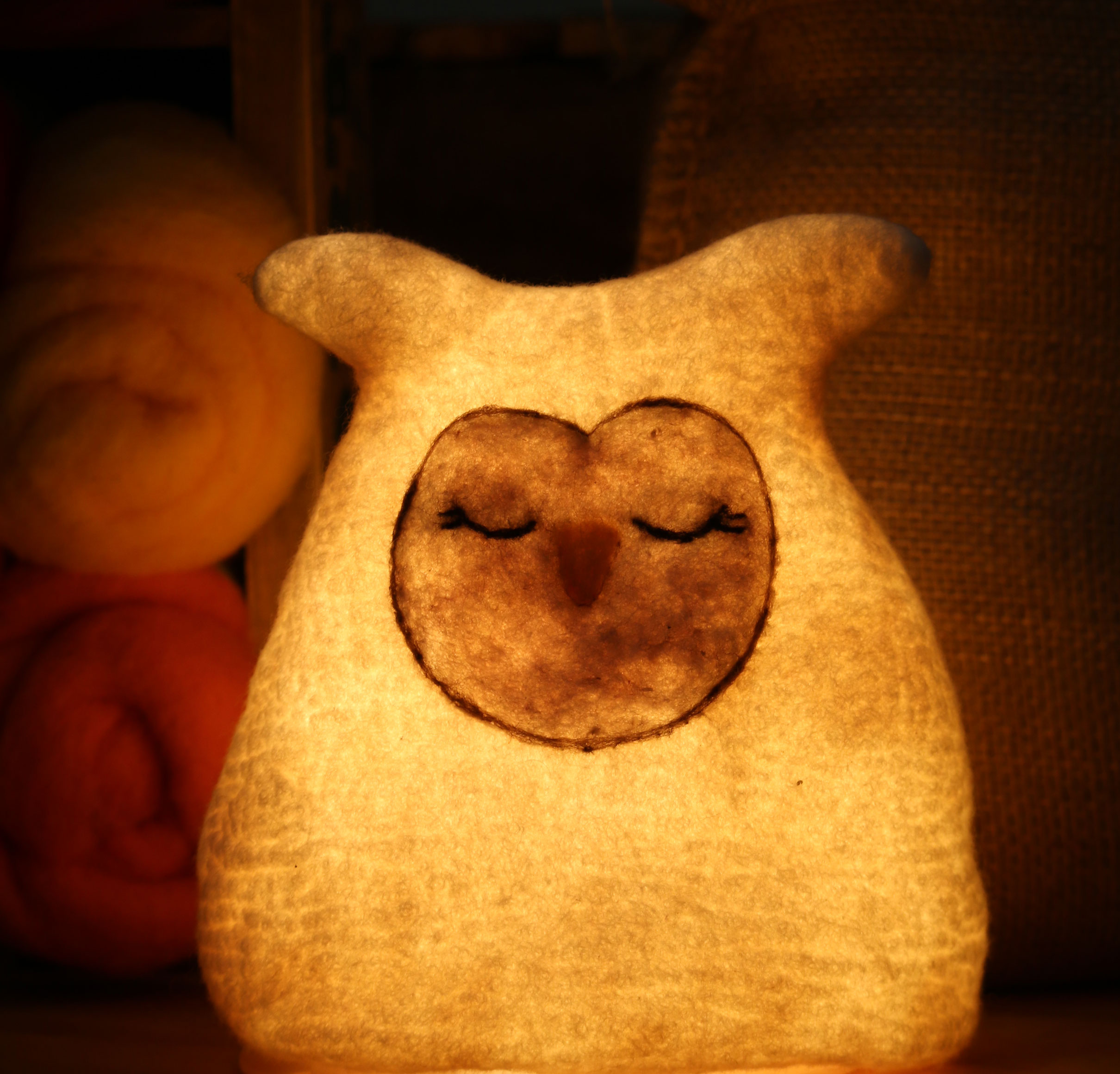 felt night owl