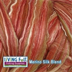 Merino Silk Blend 80/20 - Pomegranate