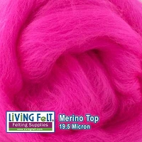 Merino Top – 19.5 Micron – Dragon Fruit