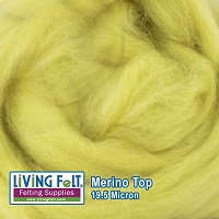 Merino Top – 19.5 Micron – Citron