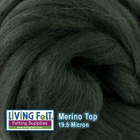 Merino Top – 19.5 Micron – Fir