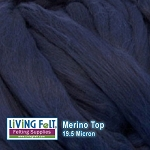 Merino Top – 19.5 Micron – Midnight