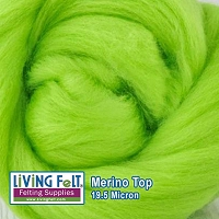 Merino Top – 19.5 Micron – Tree Frog