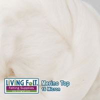 Merino Top – 16 Micron – French Vanilla