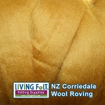 NZ Corriedale Wool – Butterscotch