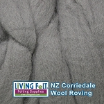 NZ Corriedale Wool – Smoke