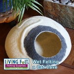 Wet Felting a Cat Cave Tutorial PDF
