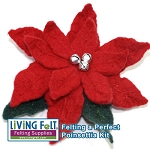 Felting a Perfect Poinsettia - Kit