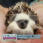 Needle Felting a Hedgehog - PDF