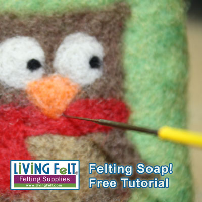 Felting Soap - A Free Tutorial for Wet Felting and Needle