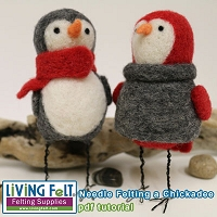 Needle Felting: Chickadee Tutorial PDF