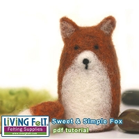 Needle Felting: Sweet & Simple Fox Tutorial PDF