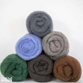 MC-1™ Merino Cross Batt: SCENIC VISTA Studio Pack