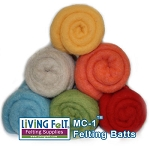 MC-1™ Merino Cross Batt: BEACH PARTY Studio Pack