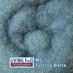 MC-1™ Merino Cross Batt – Blue Grass