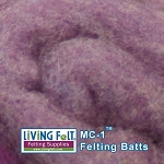 MC-1™ Merino Cross Batt – Boysenberry