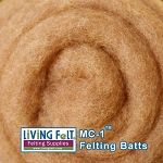 MC-1™ Merino Cross Batt – Caramel