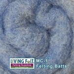 MC-1™ Merino Cross Batt – Dusty Blue