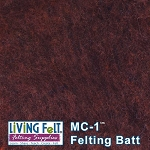 MC-1™ Merino Cross Batt – Mahogany