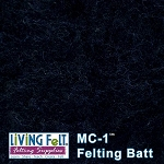 MC-1™ Merino Cross Batt - Black Onyx