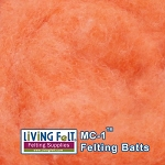 MC-1™ Merino Cross Batt – Orange Creme