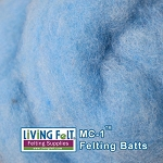 MC-1™ Merino Cross Batt – Robin's Egg