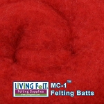 MC-1™ Merino Cross Batt – True Red