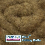 MC-1™ Merino Cross Batt – Vintage Brown