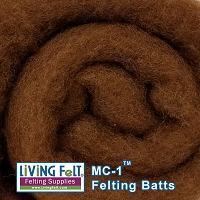 MC-1™ Merino Cross Batt – Chestnut