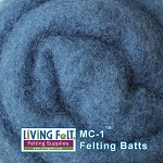 MC-1™ Merino Cross Batt – Cobalt