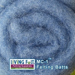 MC-1™ Merino Cross Batt – Egyptian Blue